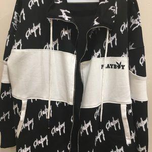 Playboy X Missguided oversized sweatshirt